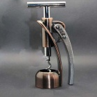 RI-MEI-GD MS758 Zinc Alloy Red Wine Bottle Opener -- Silver Plus Bronze (Kitchen Gadgets Category)